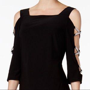 Gorgeous MSK rhinestones Embellished Dress